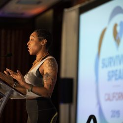 SACRAMENTO, Calif., April 8,  2019  Survivors Speak conference in Sacramento, Calif., April 8, 2019.  Photo by Robert Durell
