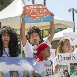 SACRAMENTO, Calif., April 9,  2019  Survivors Speak conference in Sacramento, Calif., April 9, 2019.  Photo by Robert Durell