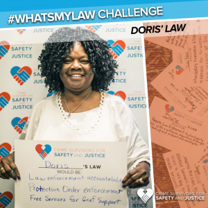 #WhatsMyLaw Doris