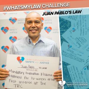#WhatsMyLaw Juan Pablo