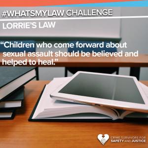 #WhatsMyLaw Lorrie