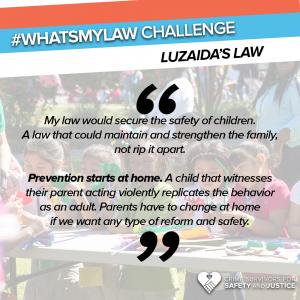 #WhatsMyLaw Luzaida