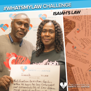 #WhatsMyLaw Pernell Isaiah